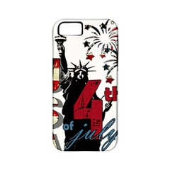 4th Of July Independence Day Apple Iphone 5 Classic Hardshell Case (pc+silicone) by Valentinaart