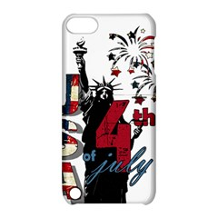 4th Of July Independence Day Apple Ipod Touch 5 Hardshell Case With Stand by Valentinaart