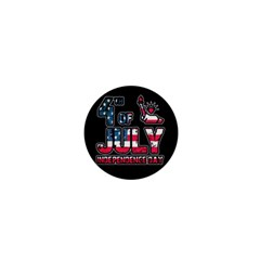 4th Of July Independence Day 1  Mini Buttons by Valentinaart