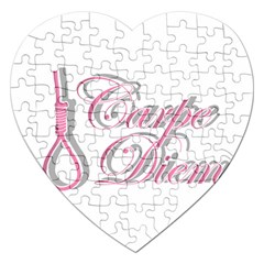 Carpe Diem  Jigsaw Puzzle (heart) by Valentinaart