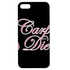 Carpe Diem  Apple Iphone 5 Hardshell Case With Stand by Valentinaart