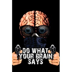Do What Your Brain Says 5 5  X 8 5  Notebooks by Valentinaart