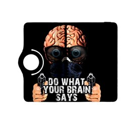 Do What Your Brain Says Kindle Fire Hdx 8 9  Flip 360 Case by Valentinaart