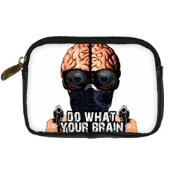 Do What Your Brain Says Digital Camera Cases by Valentinaart