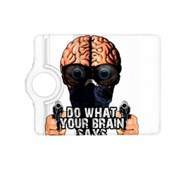 Do What Your Brain Says Kindle Fire Hd (2013) Flip 360 Case by Valentinaart