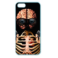 Do What Your Brain Says Apple Seamless Iphone 5 Case (color) by Valentinaart