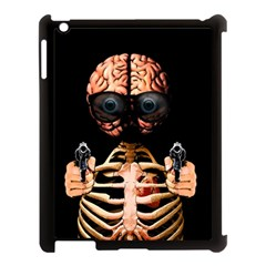 Do What Your Brain Says Apple Ipad 3/4 Case (black) by Valentinaart