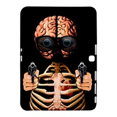 Do What Your Brain Says Samsung Galaxy Tab 4 (10 1 ) Hardshell Case  by Valentinaart