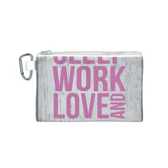 Grunge Style Motivational Quote Poster Canvas Cosmetic Bag (s) by dflcprints