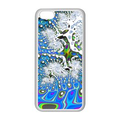 Fractal Fantasy 717b Apple Iphone 5c Seamless Case (white) by Fractalworld