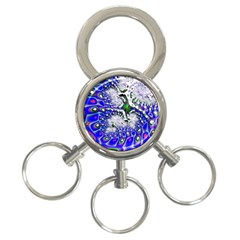 Fractal Fantasy 717c 3 Ring Key Chains by Fractalworld