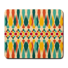 Festive Pattern Large Mousepads by linceazul