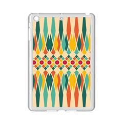 Festive Pattern Ipad Mini 2 Enamel Coated Cases by linceazul
