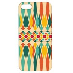 Festive Pattern Apple Iphone 5 Hardshell Case With Stand by linceazul