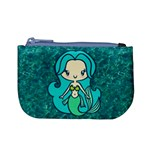 Aqua Mermaid Coin Change Purse