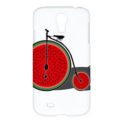 Watermelon Bicycle  Samsung Galaxy S4 I9500/i9505 Hardshell Case by Valentinaart