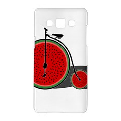 Watermelon Bicycle  Samsung Galaxy A5 Hardshell Case  by Valentinaart