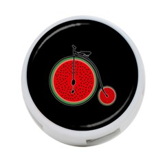 Watermelon Bicycle  4 Port Usb Hub (two Sides)  by Valentinaart