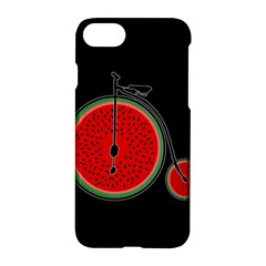 Watermelon Bicycle  Apple Iphone 7 Hardshell Case by Valentinaart