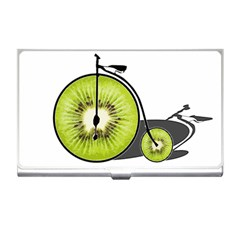 Kiwi Bicycle  Business Card Holders by Valentinaart