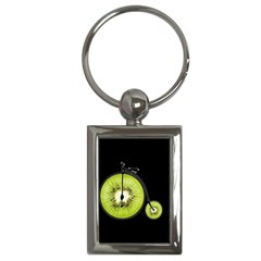 Kiwi Bicycle  Key Chains (rectangle)  by Valentinaart
