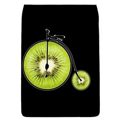 Kiwi Bicycle  Flap Covers (l)  by Valentinaart