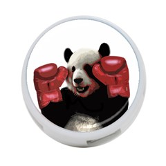 Boxing Panda  4 Port Usb Hub (two Sides)  by Valentinaart