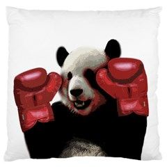 Boxing Panda  Standard Flano Cushion Case (one Side) by Valentinaart
