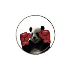Boxing Panda  Hat Clip Ball Marker (4 Pack) by Valentinaart