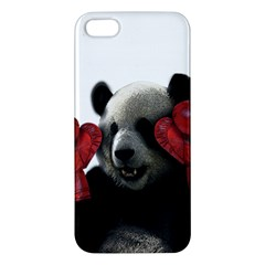 Boxing Panda  Iphone 5s/ Se Premium Hardshell Case by Valentinaart