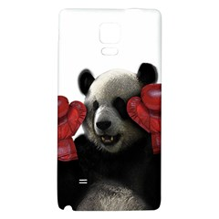 Boxing Panda  Galaxy Note 4 Back Case by Valentinaart