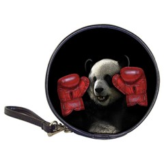 Boxing Panda  Classic 20 Cd Wallets by Valentinaart
