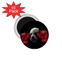 Boxing Panda  1 75  Magnets (10 Pack)  by Valentinaart