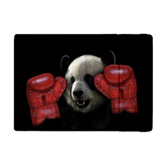 Boxing Panda  Apple Ipad Mini Flip Case by Valentinaart