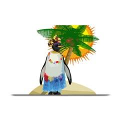 Tropical Penguin Plate Mats by Valentinaart