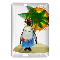 Tropical Penguin Amazon Kindle Fire Hd (2013) Hardshell Case by Valentinaart