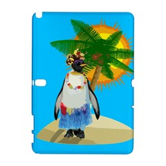 Tropical Penguin Galaxy Note 1 by Valentinaart