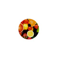 Fruits Pattern 1  Mini Magnets by Valentinaart