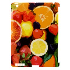 Fruits Pattern Apple Ipad 3/4 Hardshell Case (compatible With Smart Cover) by Valentinaart