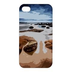 Landscape Apple Iphone 4/4s Premium Hardshell Case by Valentinaart