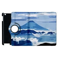 Landscape Apple Ipad 2 Flip 360 Case by Valentinaart
