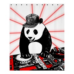 Deejay Panda Shower Curtain 60  X 72  (medium)  by Valentinaart