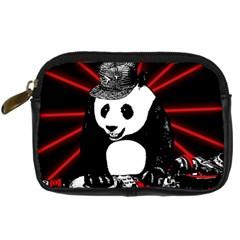 Deejay Panda Digital Camera Cases by Valentinaart