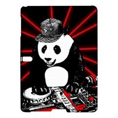 Deejay Panda Samsung Galaxy Tab S (10 5 ) Hardshell Case  by Valentinaart