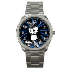 Deejay Panda Sport Metal Watch by Valentinaart