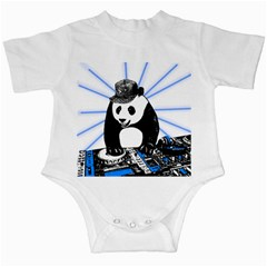 Deejay Panda Infant Creepers by Valentinaart