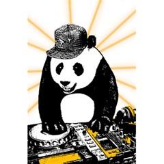 Deejay Panda 5 5  X 8 5  Notebooks by Valentinaart
