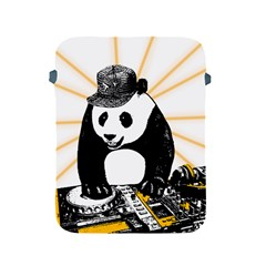 Deejay Panda Apple Ipad 2/3/4 Protective Soft Cases by Valentinaart
