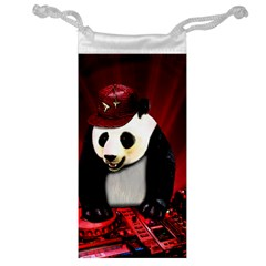 Deejay Panda Jewelry Bag by Valentinaart