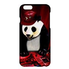 Deejay Panda Apple Iphone 6 Plus/6s Plus Hardshell Case by Valentinaart
